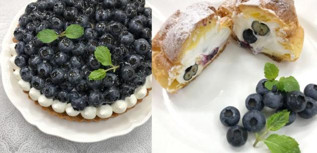サンモリッツ ブルーベリータルト シュークリーム