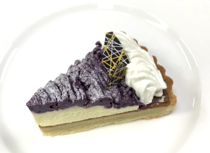 サンモリッツ 新作ケーキ 紫芋 タルト